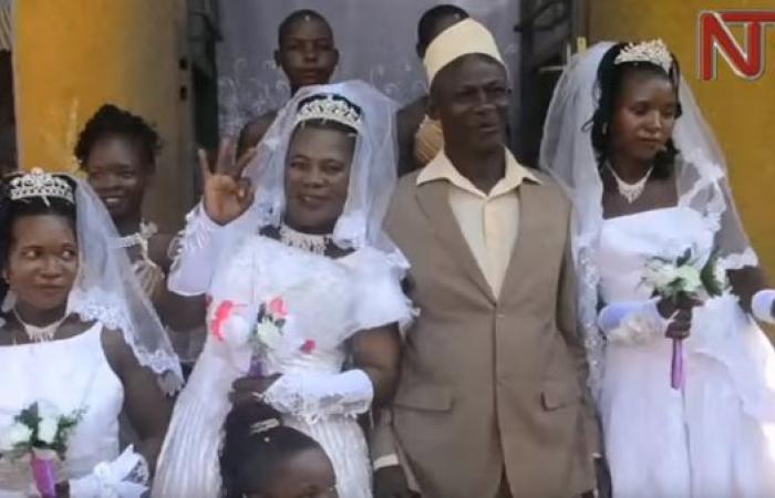 هذا الرجل تزوج 3 نساء.. في يوم واحد!