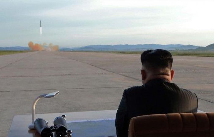 """غطاء كوري شمالي """"فضائي"""".. لاختبارات عسكرية"""