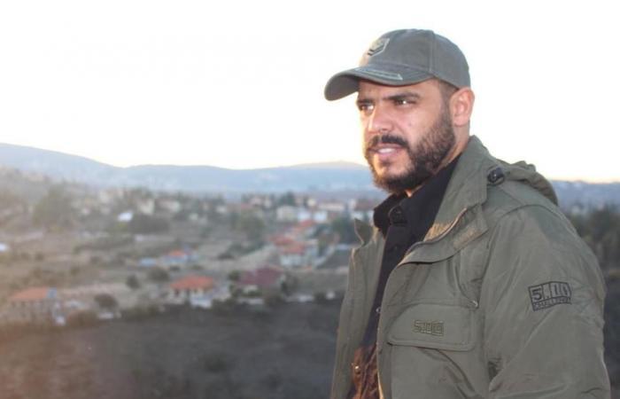 """بالصور: بعد الخزعلي… """"أبو العباس"""" في سياحة عسكرية إلى حدود لبنان الجنوبية"""