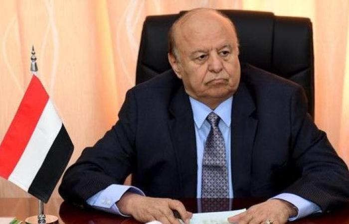 الرئيس اليمني: القضاء على مشروع إيران أمر حتمي