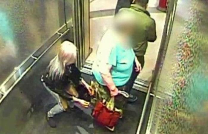 انظر إلى نشالة تغافل امرأة بلندن وتسطو على حقيبتها