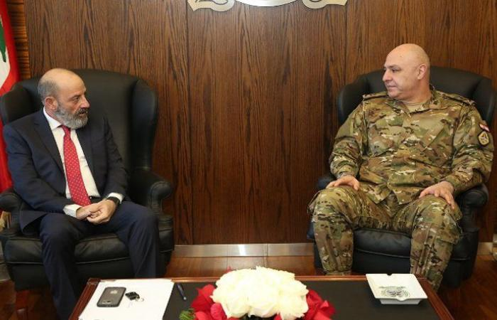 الصراف: لا يزال خطر الارهاب قائما… العماد عون: لن يسمح لأحد العبث بأمن لبنان واستقراره