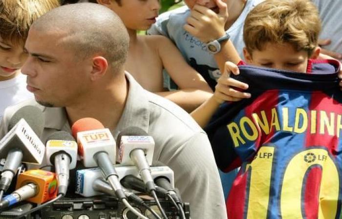 الظاهرة رونالدو ينتقد برشلونة بسبب اللاعبين البرازيليين!