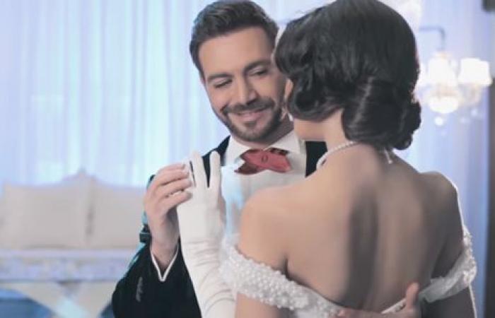 بالفيديو: شاهد إيوان وهو يرقص مع زوجته يوم زفافهما