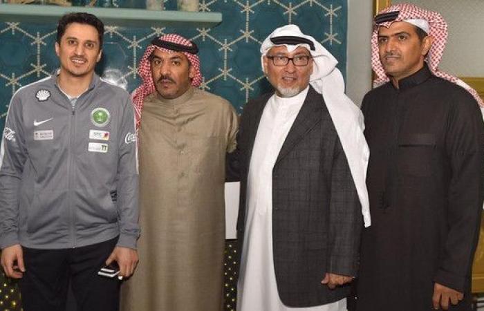 التمياط يحتفي بالإعلاميين السعوديين في الكويت