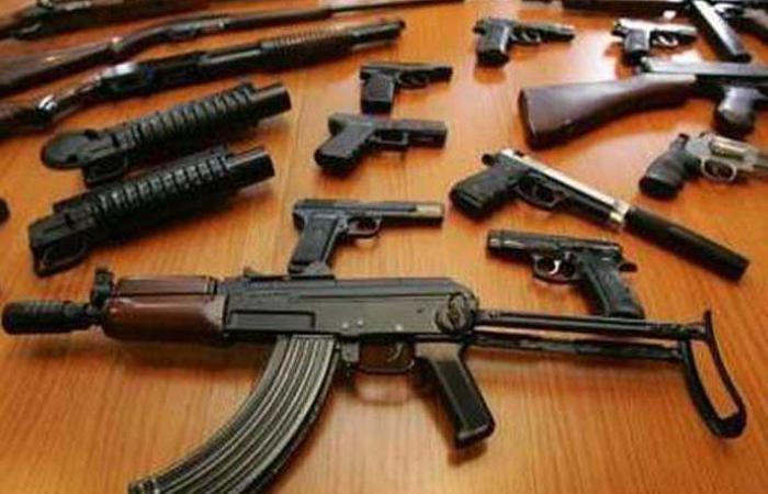 أسلحة ورمانات يدوية وأعتدة حربية في برج البراجنة – تحويطة