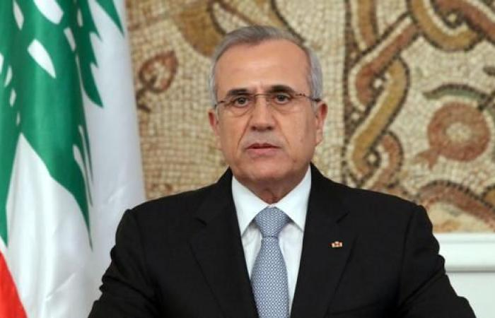رئيس لبنان السابق يدعو لإعلان الجنوب منطقة عسكرية