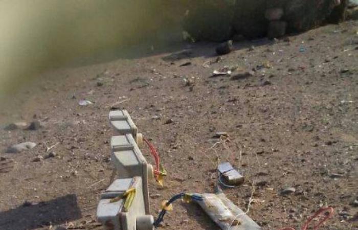 بالصور.. الجيش اليمني يفكك حقول ألغام زرعها الحوثيون