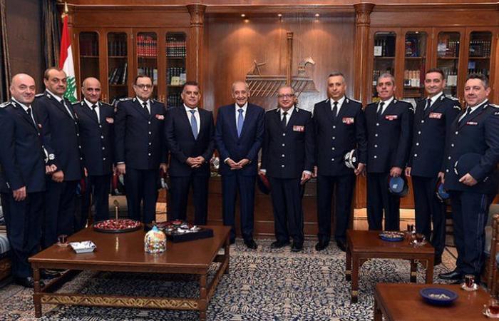 بري إستقبل قيادتي الأمن العام وأمن الدولة للتهنئة بالعام الجديد