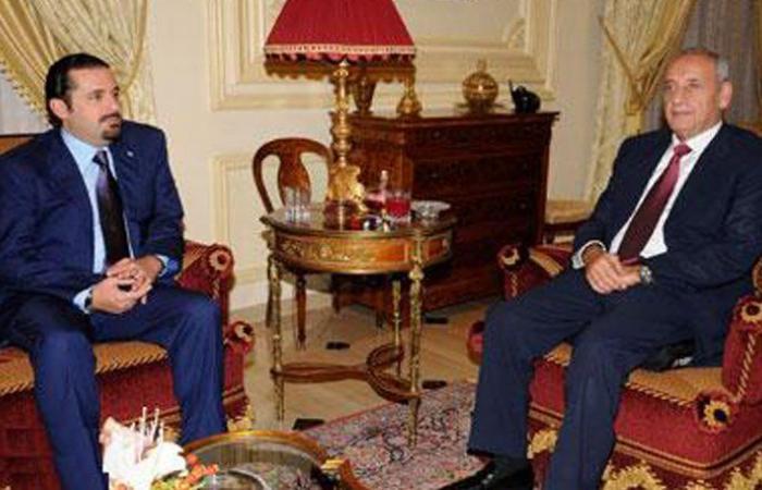 الحريري يزور بري قريباً للبحث في أزمة المرسوم