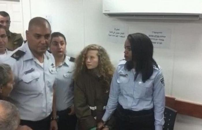 لائحة إسرائيلية من 12 تهمة ضد الطفلة عهد التميمي