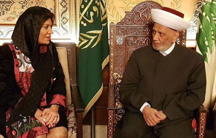 دريان استقبل السفيرة ضاهر واتصل بفيصل كرامي مواسياً بوالده