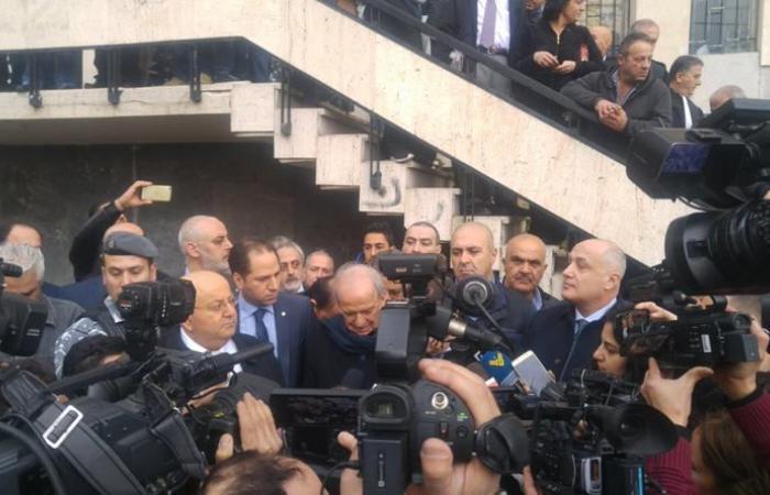وقفة تضامنية مع مارسيل غانم امام قصر العدل… الرياشي: الموضوع هو حماية الحرية