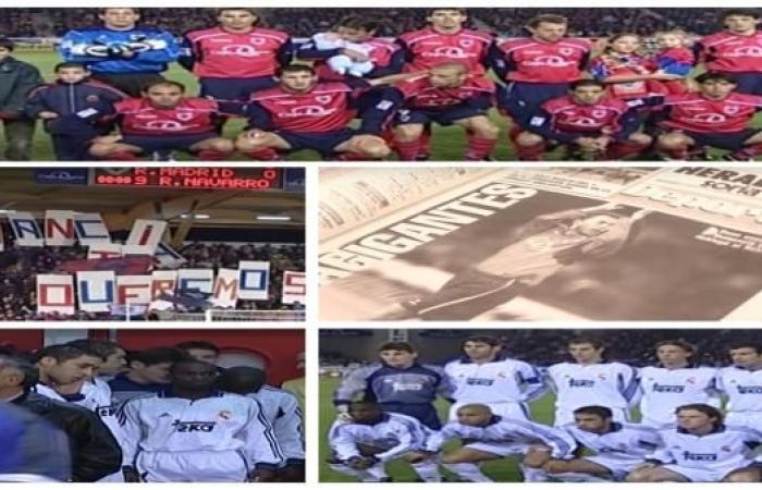 """معجزة عام """"2000""""...لاعبُ نومانسيا الروماني يصدُم ريال مدريد"""