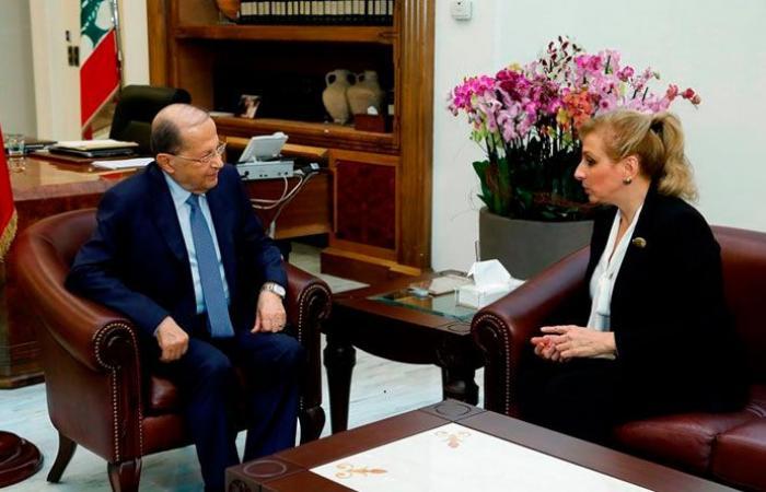 """عون استقبل سفيرة لبنان لدى """"الاونيسكو"""""""