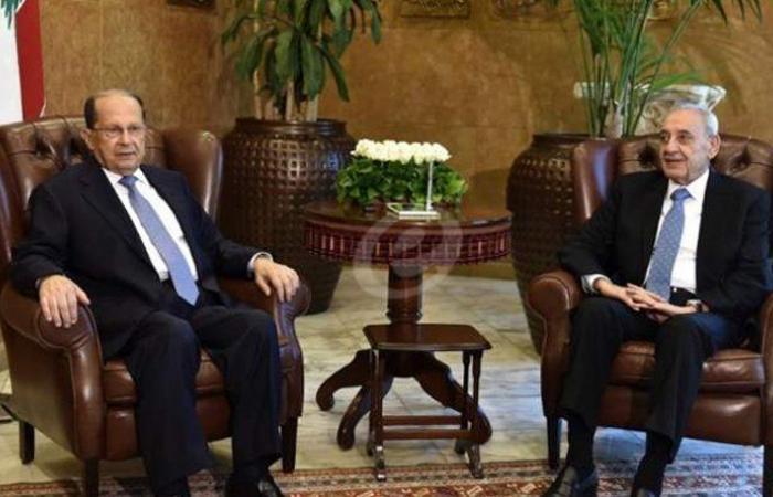 """لبنان يراوح فوق """"الحبل المشدود"""" بين عون وبري"""