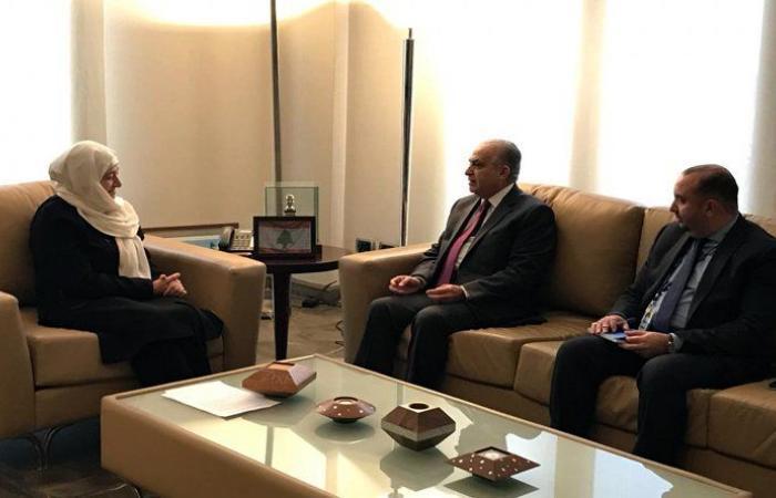 الحريري استقبلت الأمين التنفيذي للأسكوا