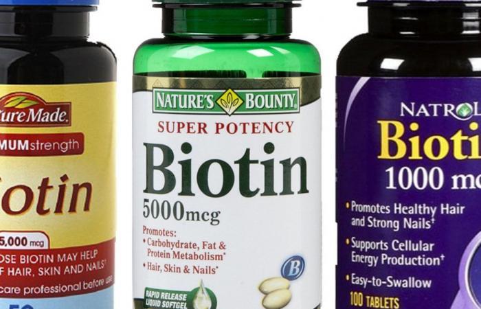 فوائد البيوتين في نمو الشعر