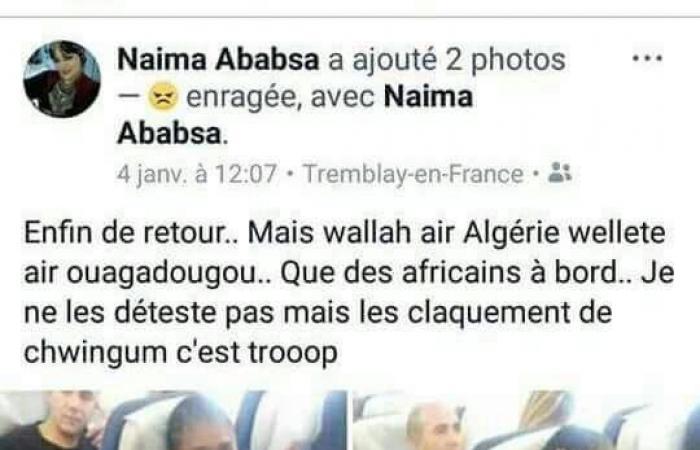 فنانة جزائرية تشعل مواقع التواصل بتغريدة عنصرية