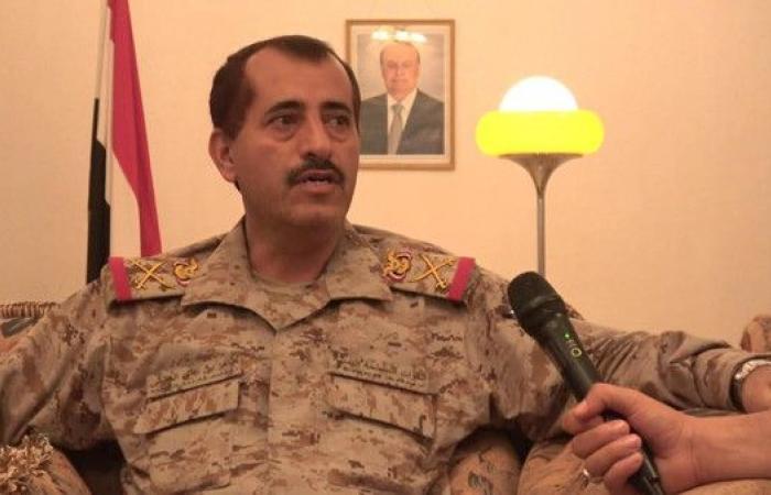 نجاة رئيس أركان الجيش اليمني من لغم حوثي