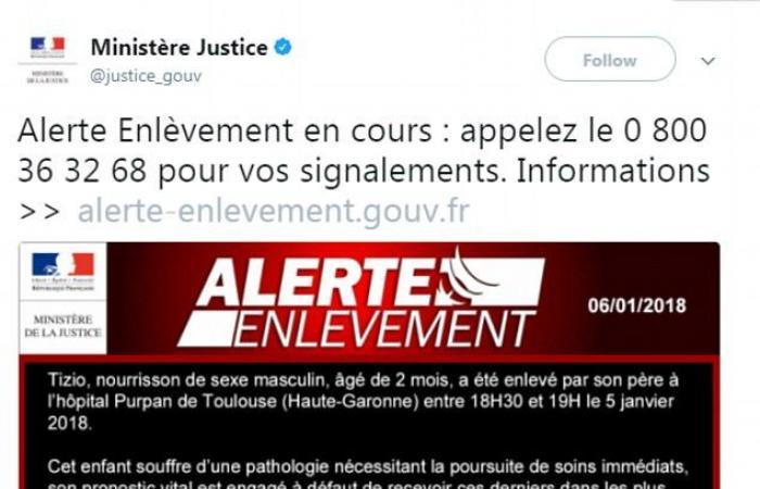 فرنسا.. خطف رضيع يعاني وضعاً صحياً خطيراً