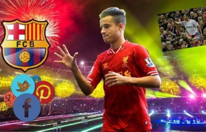 """غضبُ ليفربول وسعادة برشلونة..صراع الجماهير يشتعل على """"سوشال ميديا"""""""