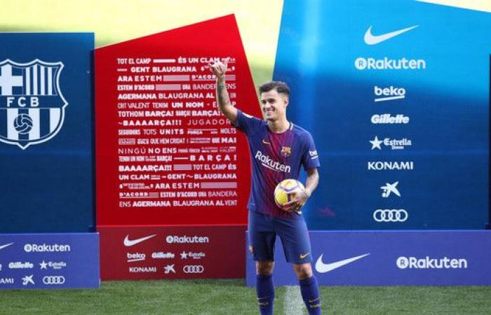 كوتينيو يوقع عقده مع برشلونة.. ويغيب 20 يوماً