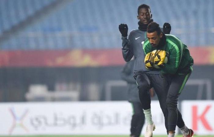 الأخضر الأولمبي يستعد للقاء الأردن في كأس آسيا