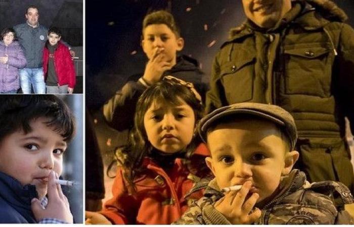 انظر إلى أطفال بقرية برتغالية يشجعهم الآباء على التدخين