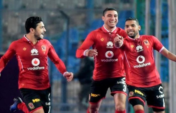 الأهلي يكتسح الزمالك بثلاثية نظيفة في الدوري المصري