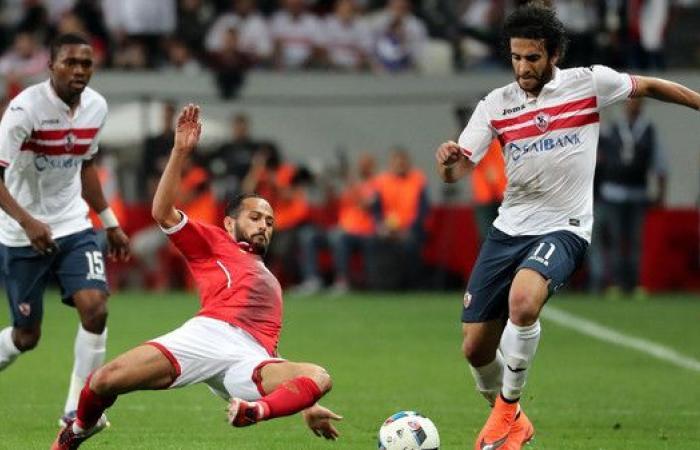الزمالك يحاول منع الأهلي من خطف صدارة الدوري المصري