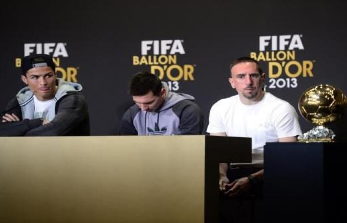 ريبيري يُعلنها: رونالدو سرق مني الكرة الذهبية