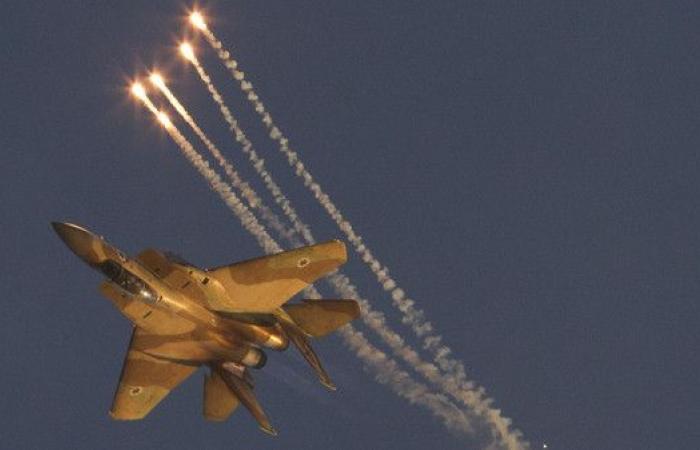 قصف وغارات إسرائيلية ليلية على الأراضي السورية