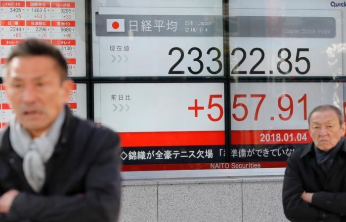 الأسهم اليابانية عند أعلى مستوى في 26 عاما