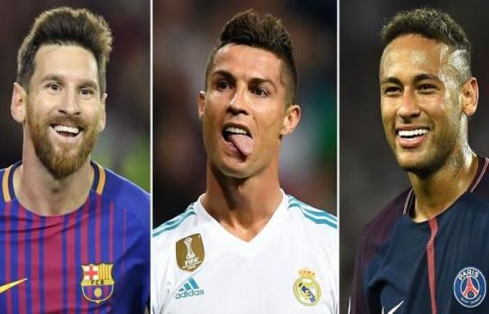 القيمة السوقية لنجوم كرة القدم...نيمار ملك ورونالدو في الهاوية