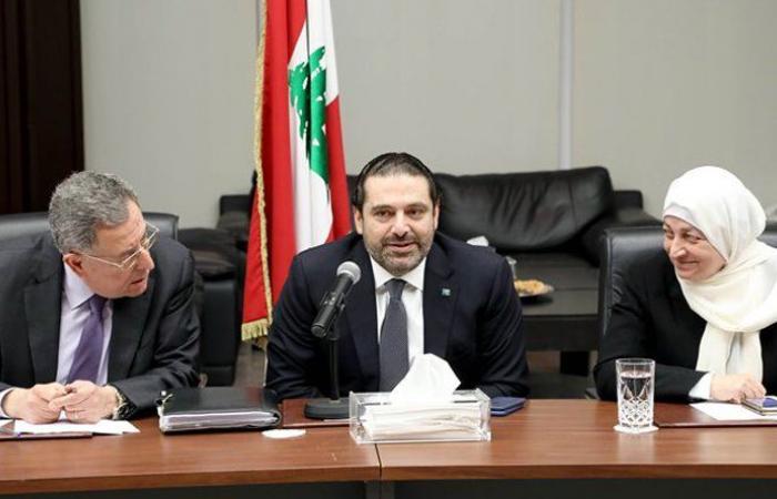 """كتلة """"المستقبل"""" تجتمع… الحريري: أقوم بدوري بما خص مرسوم الضباط وفق الدستور"""