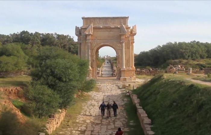 لبدة الليبية.. آثار أربع حضارات ضحية الإهمال