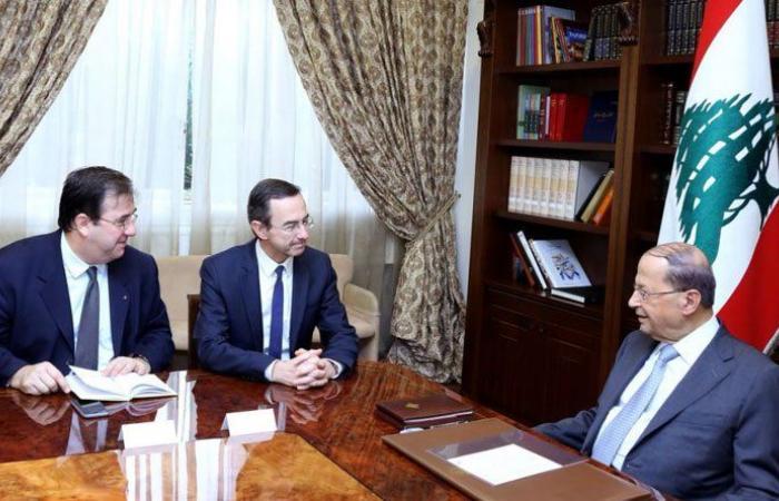 """""""الانتخابات ستجرى في موعدها """"… عون: المؤتمرات من أجل لبنان دليل على أهمية دوره في المنطقة"""