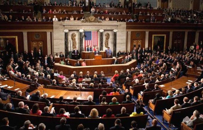 مجلس النواب الأميركي يعتمد قراراً يدعم التظاهرات بإيران
