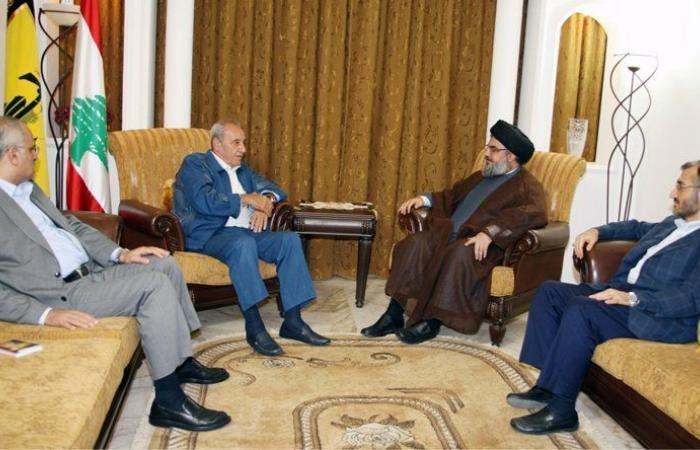"""""""حزب الله"""" يؤيد موقف بري"""