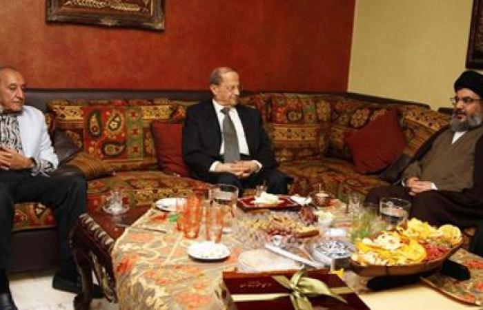 """""""حزب الله"""" يرفض التوسط بين عون وبري ويلقي المهمة على عاتق الحريري"""