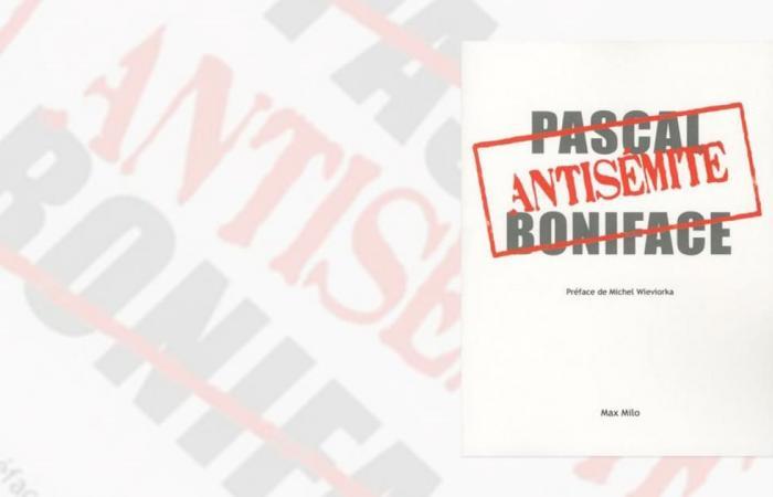 """صدور كتاب """"معادٍ للسامية"""" للمفكر الفرنسي بونيفاس"""