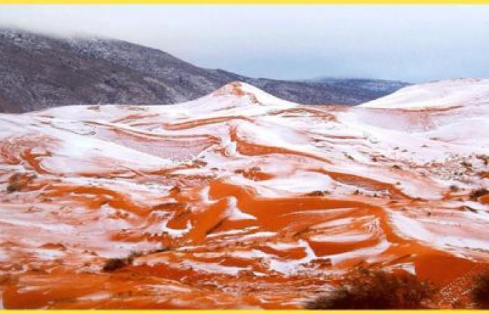 خبير روسي يكشف دلالة تساقط الثلج على الصحراء