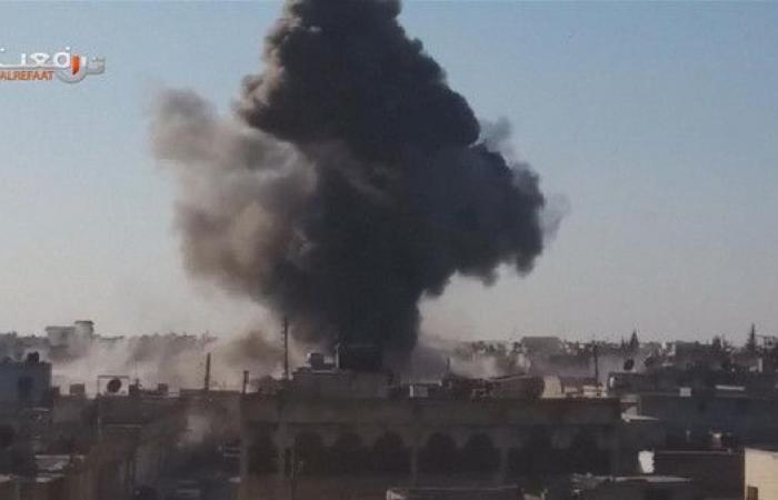 القوات الروسية تدمر مخزونا من الطائرات المسيرة بإدلب