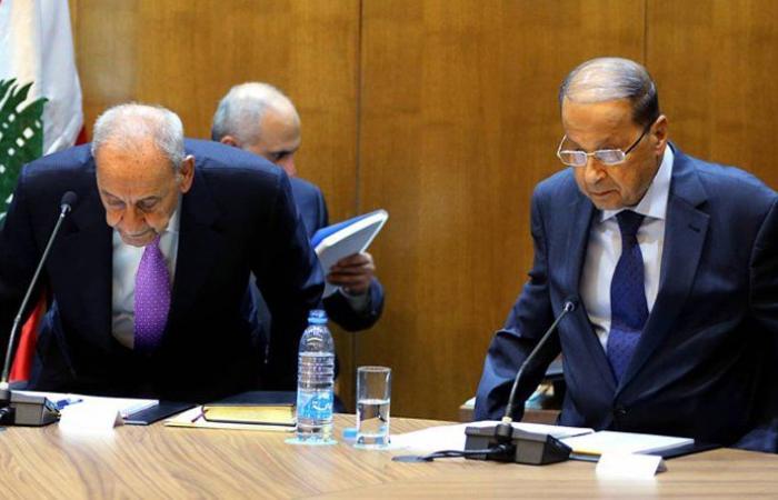 """الصراع بين عون وبري """"باقٍ ويتمدّد"""" و""""نصف رسالة"""" سلبية إلى الحريري"""