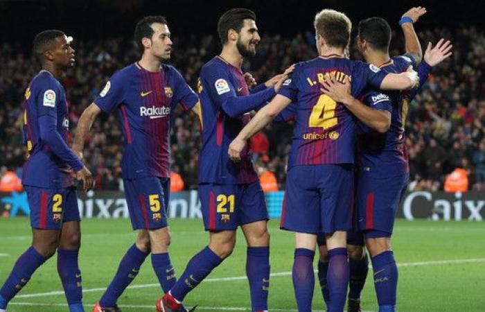 برشلونة يمزق شباك سلتا فيغو بخماسية
