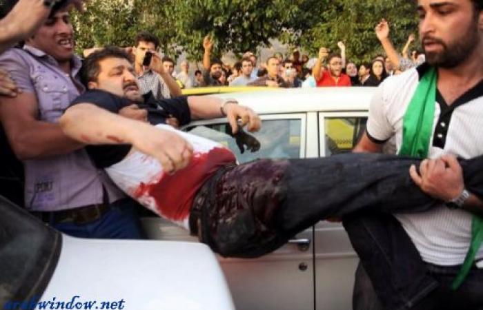 سينا قنبري شاهد عيان على قمع المتظاهرين في ايران