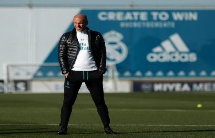 زيدان يعرف خطوته المقبلة إذا ترك ريال مدريد