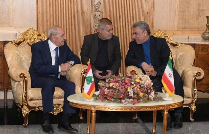 بري من طهران: اقتراحي الجديد حول مرسوم الضباط مفيد للبنان