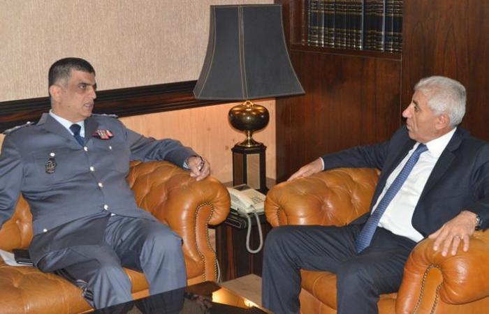 رئيس ديوان المحاسبة إلتقى عثمان وشدد على دور الاجهزة الامنية في حماية لبنان
